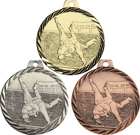 MEDAILLE JUDO 50MM - 203NZ12D
