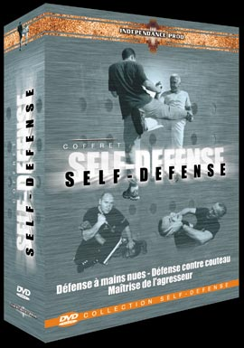 "COFFRET ""SELF DEFENSE"" 3 DVD"