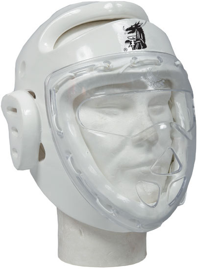 CASQUE TAEKWONDO BUDOFIGHT HOMOLOGUE ENFANT 40905