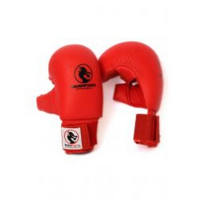 GANTS DE KARATE PU BUDOFIGHT ROUGE OU BLEU 0489